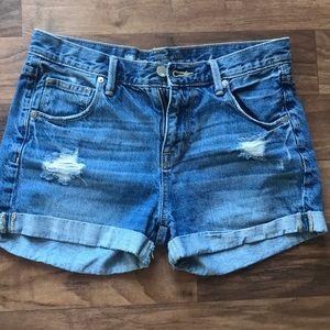 Mossimo denim shorts. Size 2/26
